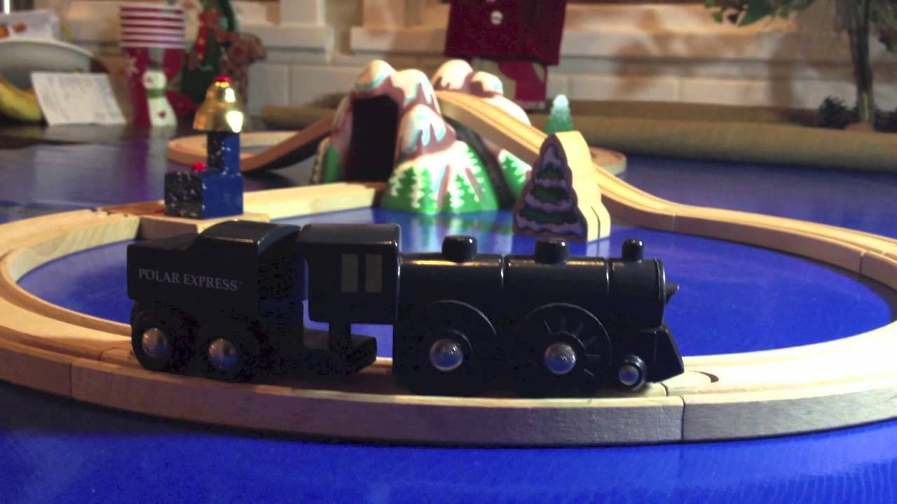 Polar Express Trains - A Wooden Railway & Battery Powered Train Toy ...