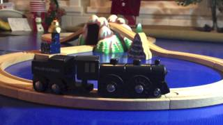 The Brio Polar Express Trains - A Wooden Railway & Battery Powered Train Toy Review!