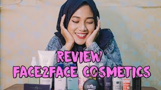 Face2Face | Make Up Lokal (Unboxing + Review)