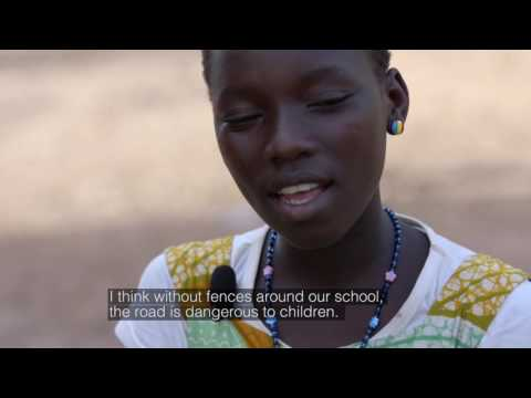 Meet Claire from Burkina Faso - A day in her life