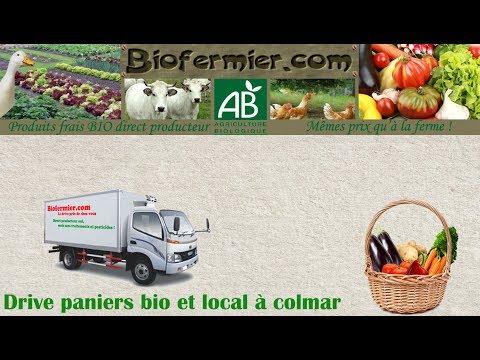 Livraison paniers bio fruits légumes produits frais à Colmar en Alsace