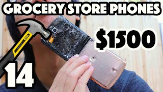Bored Smashing - GROCERY STORE PHONES! Episode 14