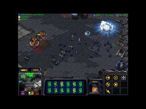 Starcraft - 5 vs 3 Compz Kill 4 Minerals