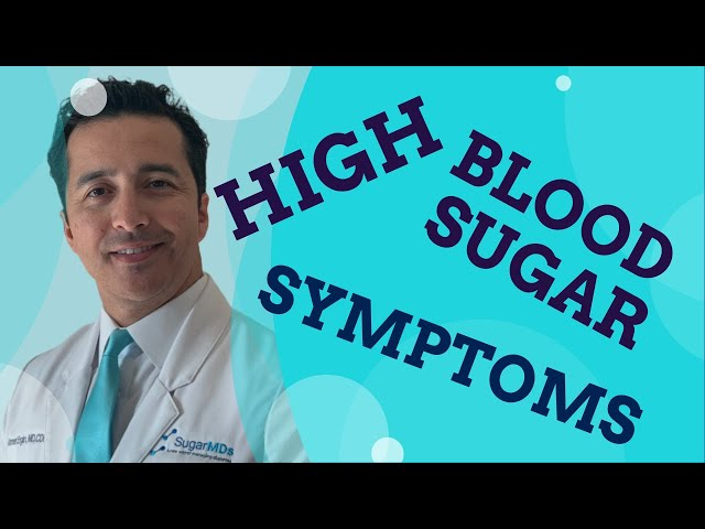 What Are The Alarming High Blood Sugar Symptoms & Signs?