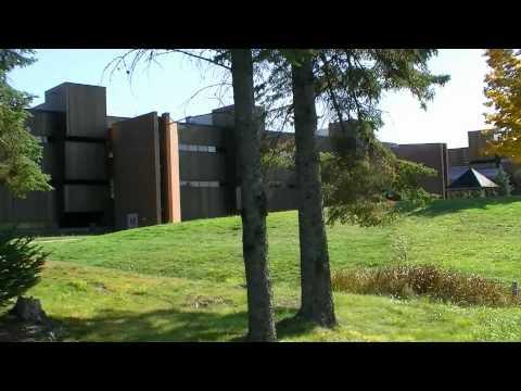 Tour of Nipissing University & Canadore College Campus Trails North Bay Ontario Canada (1 of 3)