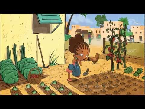 Bouba & Zaza protect the Earth - a cartoon based on UNESCO Dakar's children's books collection