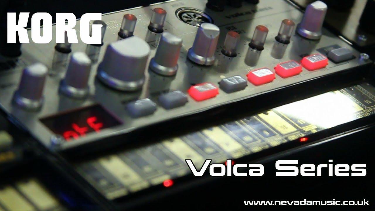 Korg Volca Series Demo with Luke #1
