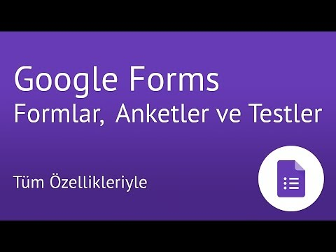 Download Google Forms ile Formlar, Anketler ve Testler Nasıl Hazırlanır?