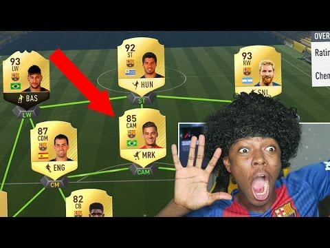 THE BARCELONA COUTINHO !!! FIFA 17