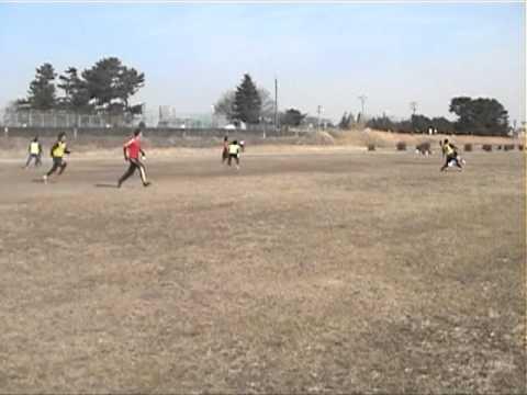 2011 01 29 vs慶應Huskies @京王多摩川2