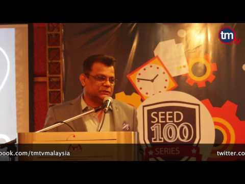 Emotional Speech by Tan Sri M Kayveas at SEED 100 Series