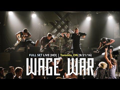 Wage War - FULL SET LIVE [HD] - (Toronto, ON @ Hard Luck 09/21/16)