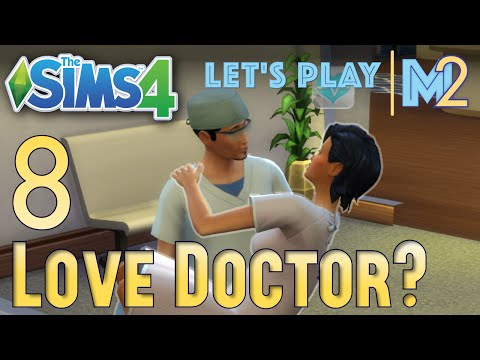 Let's Play The Sims 4 - Love Doctor? (Eden Part 8)