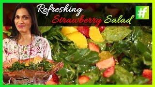 Refreshing Strawberry Salad | Maria Goretti