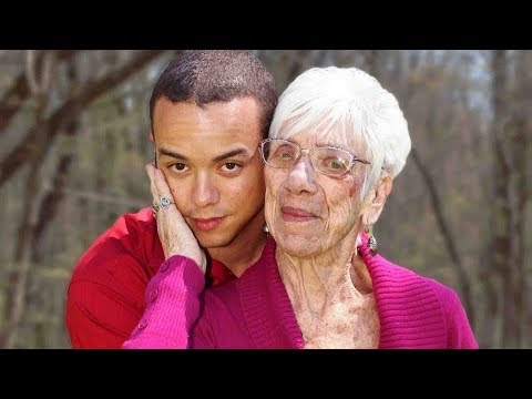 THE YOUNG MAN THAT DATES 91-YEAR-OLD WOMEN