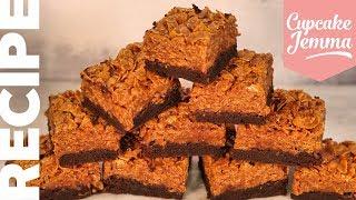Ultimate Caramel Crunch Cornflake Brownie Recipe | Cupcake Jemma