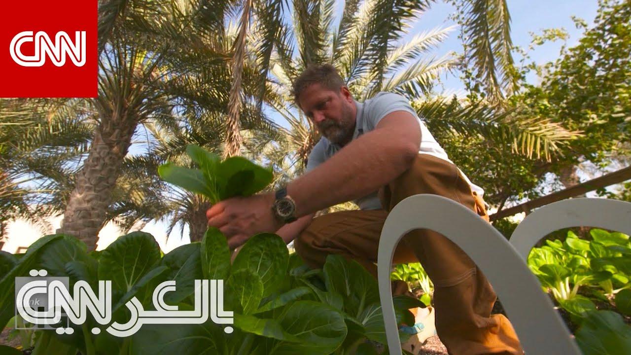 هذا الرجل في دبي ينتج ويستهلك ويعيد تدوير كامل طعامه في المكان ذاته  - نشر قبل 16 دقيقة