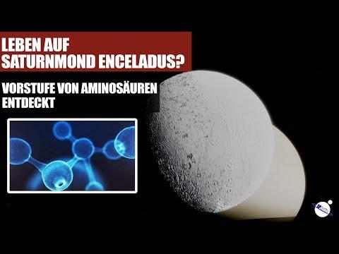 Leben auf Saturnmond Enceladus? - Vorstufe von Aminosäuren entdeckt