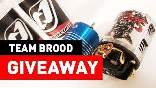 Giveaway! Team Brood Brushless & Brushed Crawler Motor Giveaway