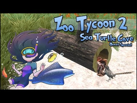 Teeny Tiny Seabird Eggs & Beach Biologists!! || Zoo Tycoon 2: Sea Turtle Cove - Episode #4