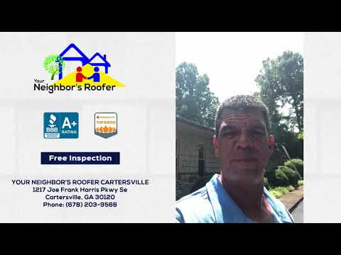 August 5, 2018 - Was Your Roof Damaged by a Storm in Cartersville GA?