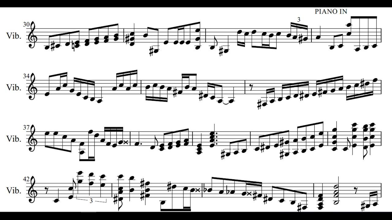 Gary Burton - Libertango ( Piazzolla Reunion Live ) transcription