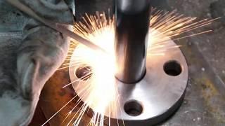 가스기능사(2/4) 플랜지 가용접하는법