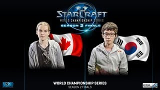 Scarlett vs. Bomber - Quarter Finals - WCS Season 2 Finals