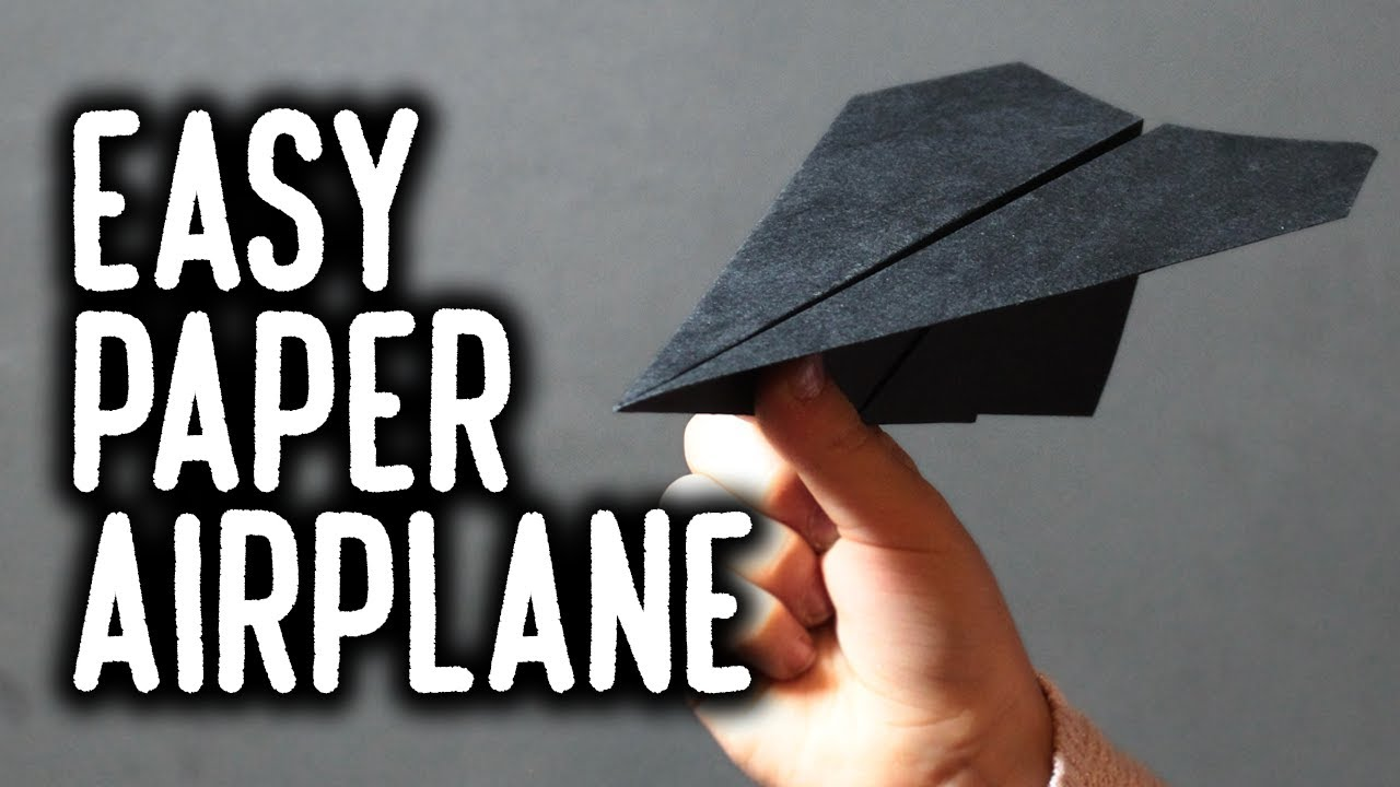 EASIEST WAY to Make Paper Airplane | Origami Airplane