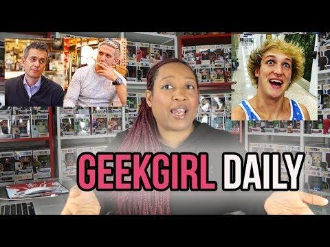 Logan Paul, Casey Neistat, Meg Turney,  Gavin Free and Kevin Hart - GeekGirl Daily