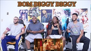 Bom Diggy Diggy (VIDEO) | Zack Knight | Jasmin Walia | Sonu Ke Titu Ki Sweety REACTION