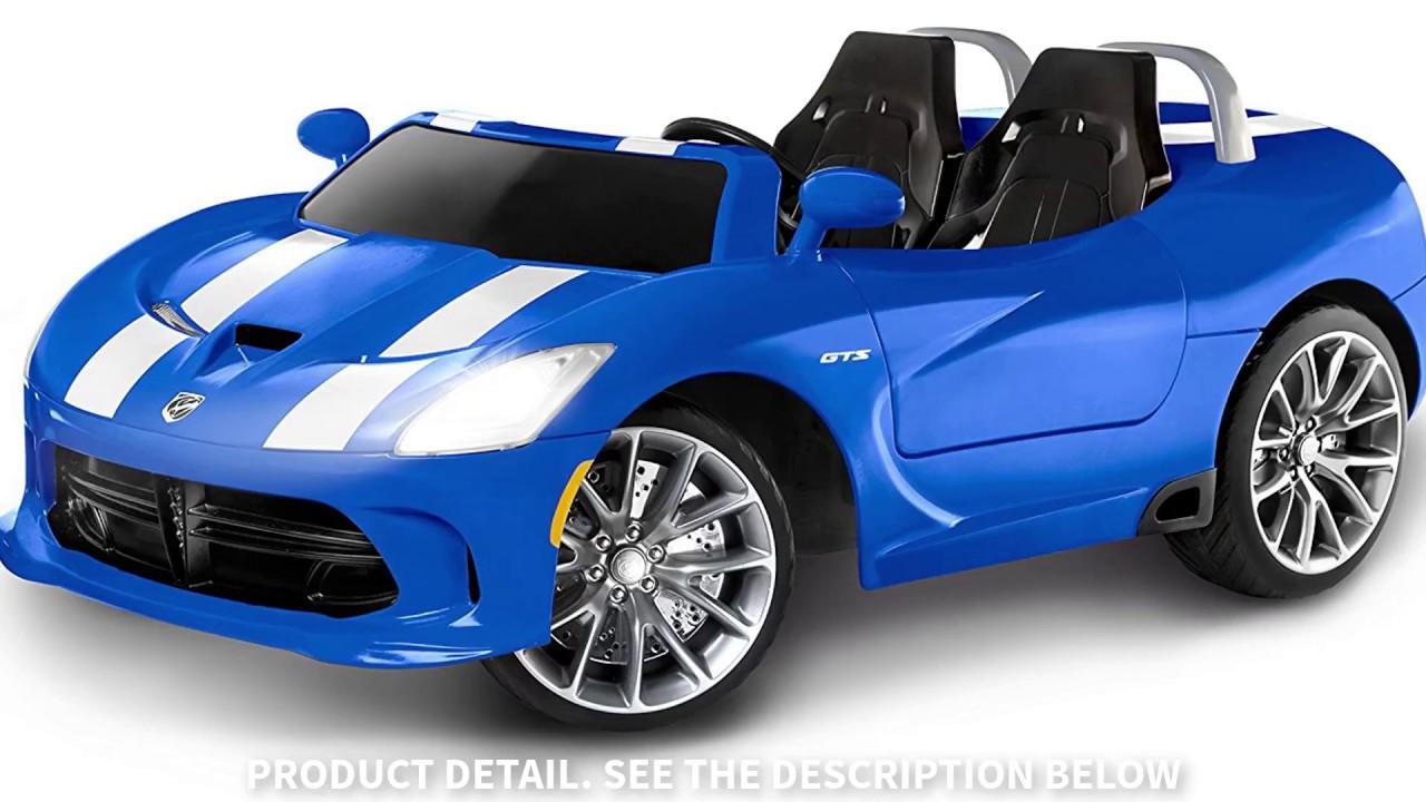 Kid Trax Dodge Viper SRT 12V Ride On Power Wheels