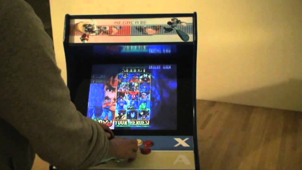 Custom Built Mini Arcade Machine Cabinet A K A Megacade
