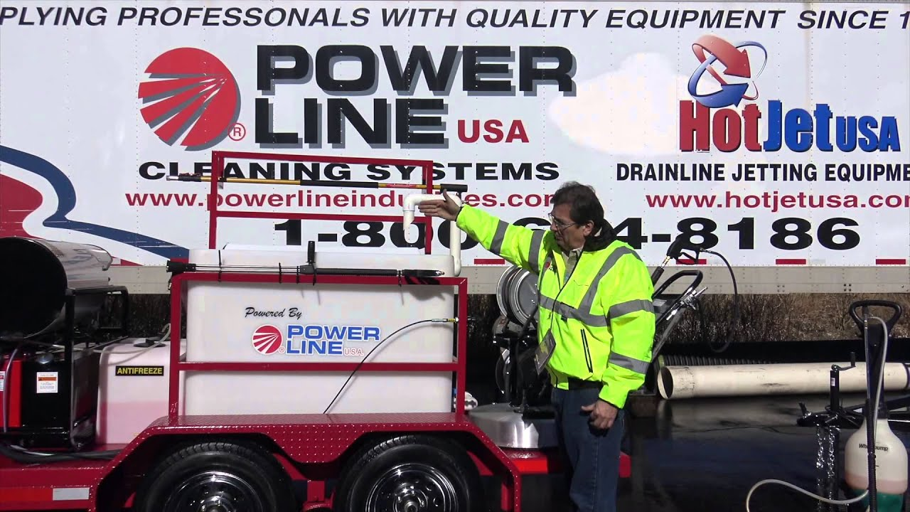 Trailer Mounted Power Washers for Sale by Power Line