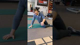 High Oblique core exercise at Catalyst Wellness.