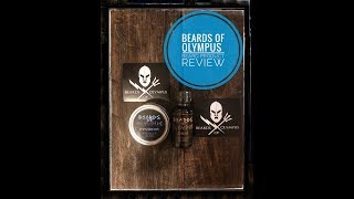 A Beard Scent for both the Guys and the Ladies? Beards of Olympus  {Oil and Balm Review}