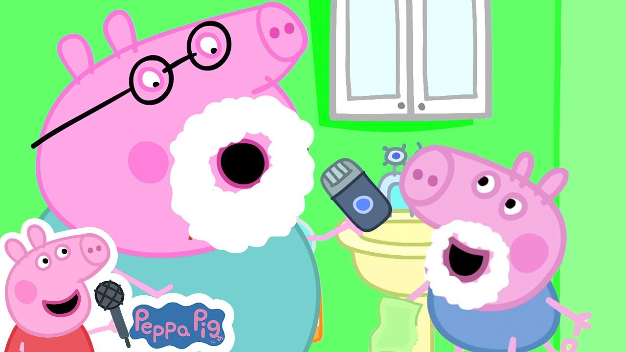 I Want To Be Like Daddy Pig | More Nursery Rhymes & Kids Songs
