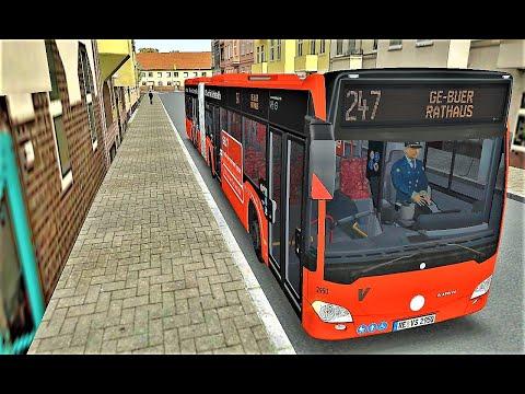 OMSI 2 🚌 Un service impeccable sur l'addon Gladbeck sur la ligne 247  