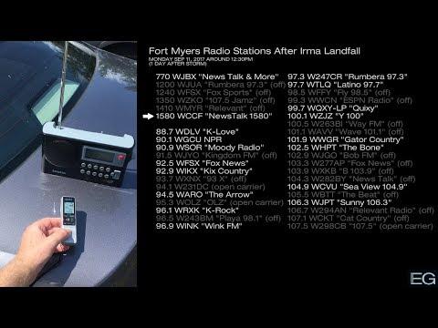Fort Myers Radio Stations During Hurricane Irma