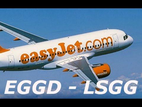 P3D   Ultra Realism   Bristol (EGGD) to Geneva (LSGG) Aerosoft A320