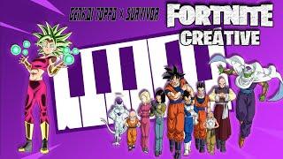 Dragon Ball Super-Genkai Toppa X Survivor (Official Fortnite Cover)