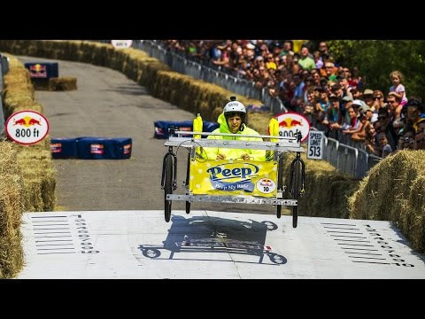 """Peep My Ride"" Winning Run - Red Bull Soapbox Race Ohio"