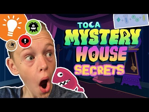 ALL THE SECRETS IN TOCA MYSTERY HOUSE!!!