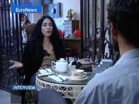 EuroNews - Interview - Israeli film maker Ronit Elkabetz