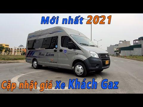 Cập nhật giá Xe Khách Gaz 17 Chỗ mới nhất 2021