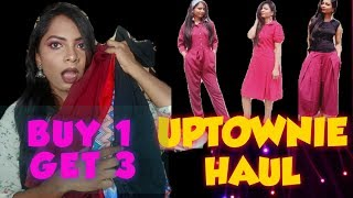 (Under 699Rs Haul)UPTOWNIE Haul| Jumpsuits & Dress All UNDER 699 Only