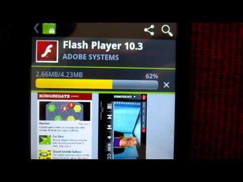 How To Install Adobe Flash Player 10.3 on Motorola Triumph Virgin Mobile