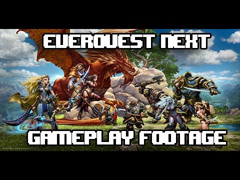 EverQuest Next ( #EQNext ) All Gameplay Footage From SoE Live!
