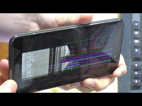 Разбит экран. Планшет Asus Fonepad Note 6 ME560CG. Замена модуля дисплея + СПОР