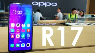 OPPO R17 With Fingerprint Sensor Under The Display Hands On 👐